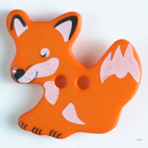 Kinderknopf Fuchs 25 mm