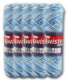 Twister Curly 8 Color - 5er Pack
